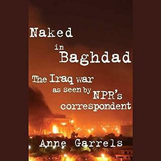 Naked in Baghdad audiobook cover art