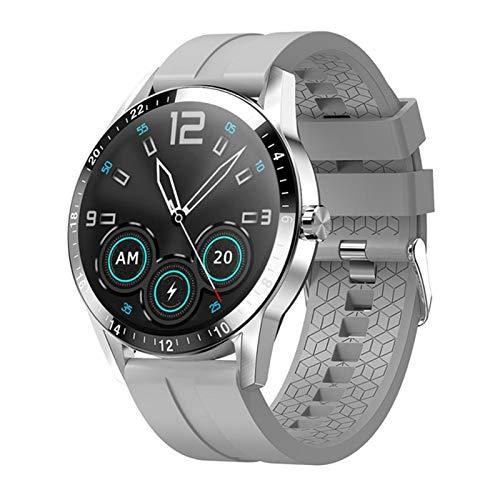 LHL Smart Watch, G20 Bluetooth Llamada para iOS Android G20 SmartWatch Hombre Reloj de Mujeres Deportes Pulsera de Fitness,B