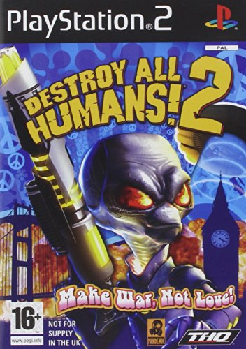 THQ Destroy All Humans!2