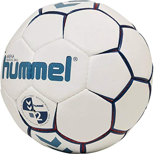 Hummel Kinder HMLARENA-Handball, Weiß/Rot/Blau, 3