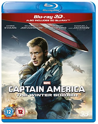 Captain America: The Winter Soldier [Blu-ray 3D + Blu-ray] [Region Free]
