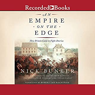 An Empire on the Edge audiobook cover art