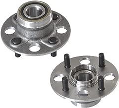 DRIVESTAR 512174x2 Set 2 New Rear 4 Bolts Wheel Hubs & Bearings for 01-05 Honda Civic