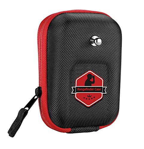 BOBLOV Golf Rangefinder Case EVA Hard Cover compatible with Bushnell Tectectec Nikon Callway Rangefinders (Red)