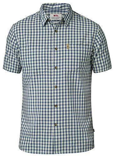 FJÄLLRÄVEN T-Shirt pour Homme High Coast L Bleu (Un)