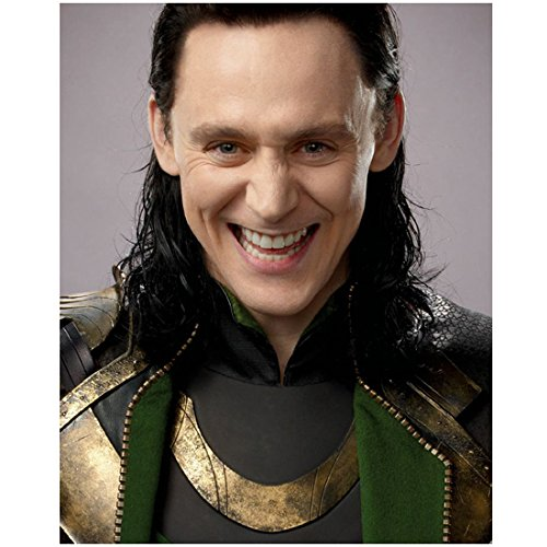 Tom Hiddleston 8x10 photo Avengers Thor headshot...
