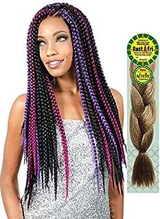 Rastafri Silky Braiding Hair (1B) [PACK OF 3]