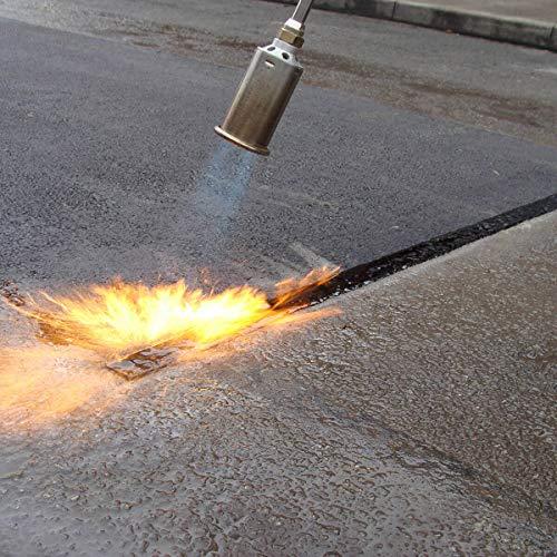 Bande autocollante de réparation asphalte bitume tarmac pour joints 40mm de large x 10m de longueur - Allées, routes et chemins