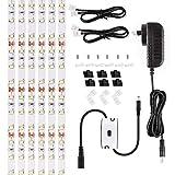Ustellar LED Under Cabinet Lighting Kit 10ft, 1500lm LED Light Strip, Hand Wave