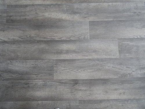 PVC in Holzplanken-Optik, grau - von Alpha-Tex 9.95€/m² (Länge: 500 cm, Breite: 400cm)