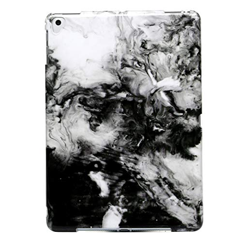 Vogu'SaNa Tablet Case Compatible for iPad 9.7 Inch 2018/2017 Case Silicone Marble Case Marble Pattern Back Cover Cover Cover Skin Soft Case Bumper TPU Case Shock Absorbing Case