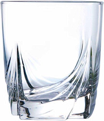 Dajar 6 Niedrigen Trinkgläser Ascot 300 ml Luminarc, Glas, Transparent, 8 x 8 x 9 cm, 6-Einheiten