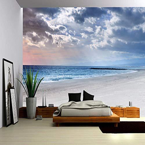 Fototapete 3D Himmel Am Meer Vlies Wand Tapete Wohnzimmer Schlafzimmer Büro Flur Dekoration Wandbilder Xxl Moderne Wanddeko 250X175Cm