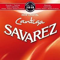 【1セット】SAVAREZ/サバレス 510CR NEW CRISTAL/CANTIGA クラシックギター弦セット Normal tension