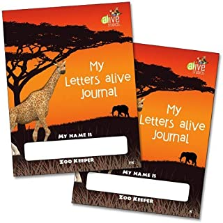 My Letters Alive PreK and Kindergarten Journals Set