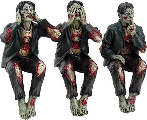 """Nemesis Now""""-Figur aus Kunstharz, 10 cm, Grün, Einheitsgröße, Zombie-Motiv"""