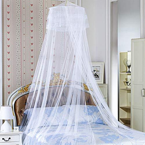 mixigoo Moskitonetz, rechteckiger Mückennetz für Bett, Reise Moskitonetz Hochwertig Feinmaschig für Doppelbett, Betthimmel für Moskitoschutz, Insektenschutz auf der Reise