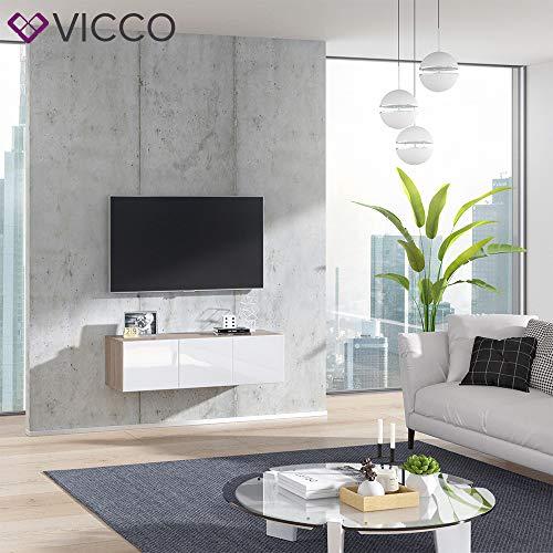 Wohnwand – Vicco TV Board Cumulus hängend Bild 3*