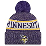 A NEW ERA Era Sideline Bobble Minnesota Vikings Gorro