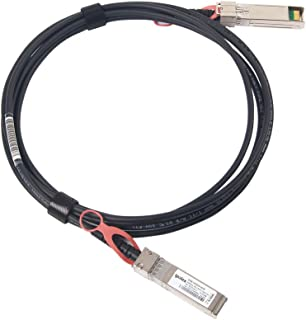 Brocade 10G-SFPP-TWX-0301 Compatible SFP+ Cable, 3-Meter (10 feet) Direct Attached Cable (DAC), Twinax Copper Cable, Active, 30AWG, ipolex