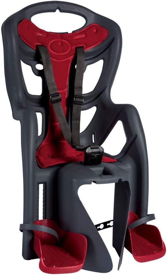 Bellelli Pepe Standard - Rear Bike Child Seat - Italian Made with Certified Safety Standards