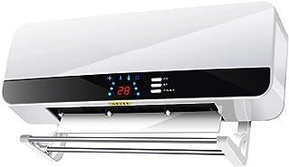 Toallero eléctrico calentado de Acero Inoxidable, 40 w, 440 * 600 * 125 mm, Temperatura Constante Inteligente, Interruptor Inferior Impermeable, radiador Calentador montado en la Pared del baño