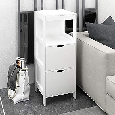 Amazon - Save 80%: US Fast Shipment Bathroom Storage Organizer,Floor Storage…
