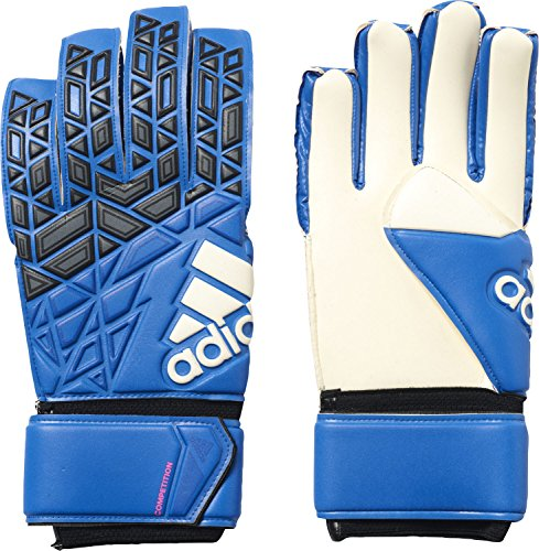 adidas Herren ACE Competition Torwarthandschuhe, Blue/Core Black/White/Shock Pink S16, 8