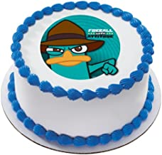 1 X Phineas & Ferb Agent P Furball w/ Attitude Personalized Edible Cake Image Topper