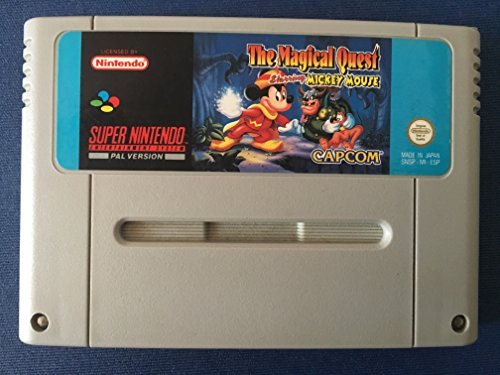 The Magical Quest Starring Mickey Mouse (SNES) [Edizione: Germania]