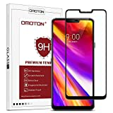 OMOTON LG G7/Plus/LG G7 ThinQ Protection D'écran Verre Trempé, Film Protecteur Complet [Couverture...