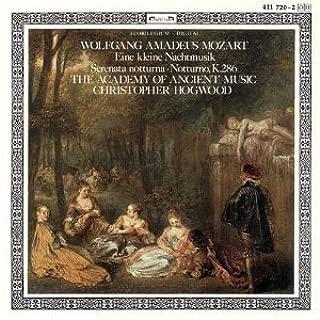 Wolfgang Amadeus Mozart: Eine Kleine Nachtmusik, K525 / Notturno for Four Orchestras, K286 / Serenata Notturna, K239 - The Salomon Quartet / The Academy of Ancient Music / Christopher Hogwood