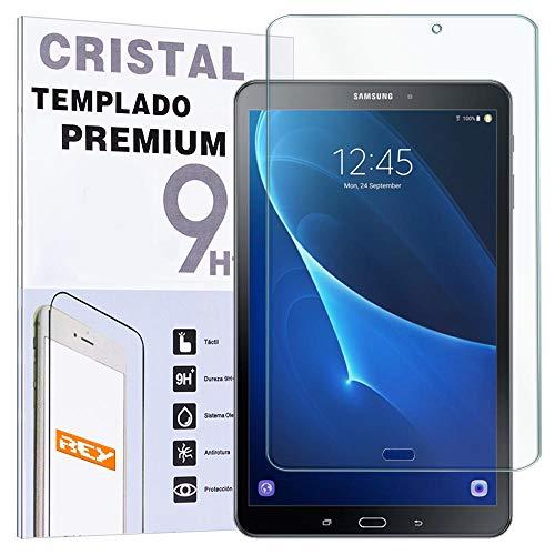 REY Protector de Pantalla para Samsung Galaxy Tab A 7' 2016 (WiFi), Cristal Vidrio Templado Premium, Táblet
