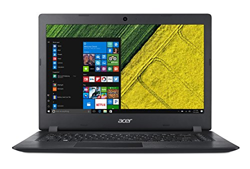 Acer Aspire 1 A114-31-P3SP Notebook con Processore Intel Pentium Quad Core N4200, RAM da 4 GB DDR3, eMMC 64 GB, Display da 14' HD LED LCD, Scheda Grafica Intel HD 500, Windows 10 Home, Nero