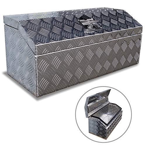 Brait 30' Aluminum Tool Box for ATV Storage Truck Pickup RV (Silver/No handle)