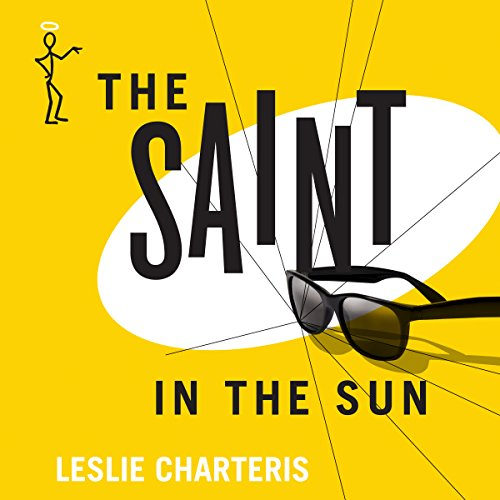 The Saint in the Sun audiobook cover art