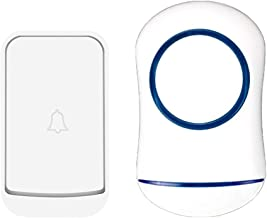 Externe deurbel Waterdichte IP44 1Sluit-in ontvangers en 1Transmitters Wireless Doorbells Eenvoudig te installeren en het ...