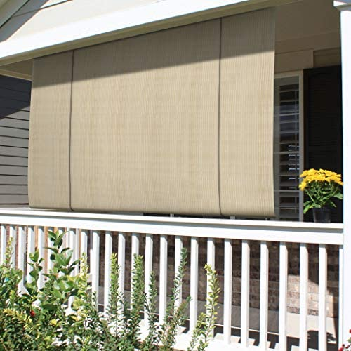 Patio Paradise Outdoor Blinds Roll up Shades Exterior Roller Shade Pull Shade Screen for Porch product image