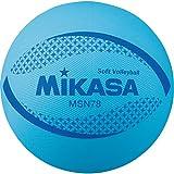 ミカサ(MIKASA) カラーソフトバレーボール 円周78cm(ブルー) MSN78-BL BL 円周78cm