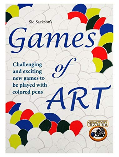 Games of Art: Challenging and exciting games to be played with color pens