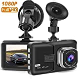 Dash Camera, 3 Inch Full HD 1080P Car Dash Cams DVR Dashboard Camera Built In G-Sensor, Loop Recording, Night Vision and etc. SD Card is NOT Included