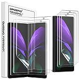 NEWZEROL 3 Pièces de Compatibles pour Samsung Galaxy Fold 2 5G Protecteur d'écran Intégré Reconnaissance d'empreintes Digitales TPU 3D Edge to Edge Protecteur d'écran Souple pour Galaxy Fold 2 5G