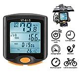 ONEVER Sport Bicicletta Computer Tachimetro per Bicicletta Senza Fili Contachilometri...