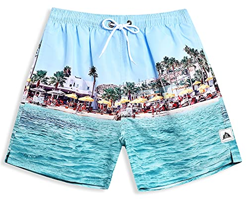 (40% OFF) Men's Swim Trunks W/ Mesh Lining $7.19 – Coupon Code