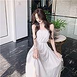 Sexy y Belleza conviven Dresses Vestidos Mujervestido Sin Mangas Elegante con Tirantes para Mujer, Diseño De Vendaje, Ve
