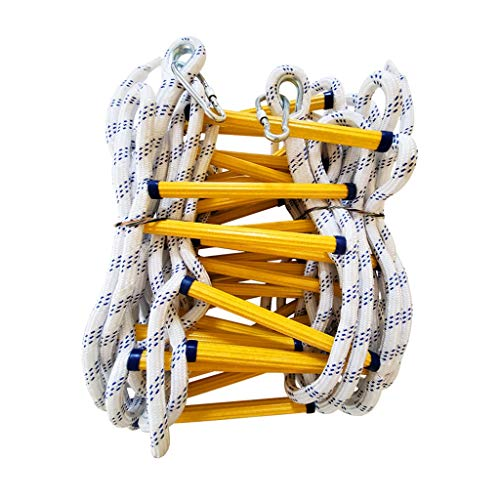 Soft Safety Ladder Fire Emergency Rope Ladder, Soft Safety Escape Ladders,Outdoor Lifesaving Home Climbing Engineering Ladder,Children Climbing Frames Fire Escape Ladders (Size : 5m)