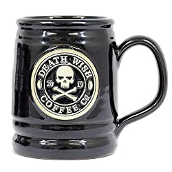 Gifts for Coffee Lovers - Death Wish Coffee Mug Deneen Pottery