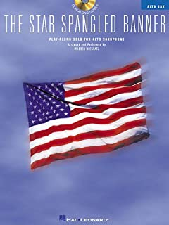 The Star Spangled Banner: Play-Along Solo for Alto Saxophone (Play Along (Hal Leonard))