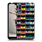 Head Case Designs Officiel Batman TV Series Modèles Logos Coque Noir en Gel Doux Compatible avec Huawei P20 Pro