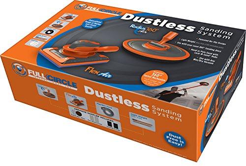 FCI - FCI DUSTLESS DUST-FREE Sanding System, Orange/Grey